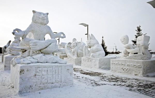 В Новосибирске проходит Форум снега