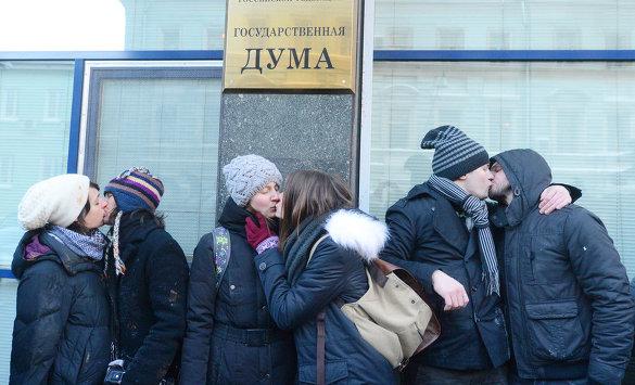 Госдума приняла закон о запрете пропаганды гомосексуализма в первом чтении