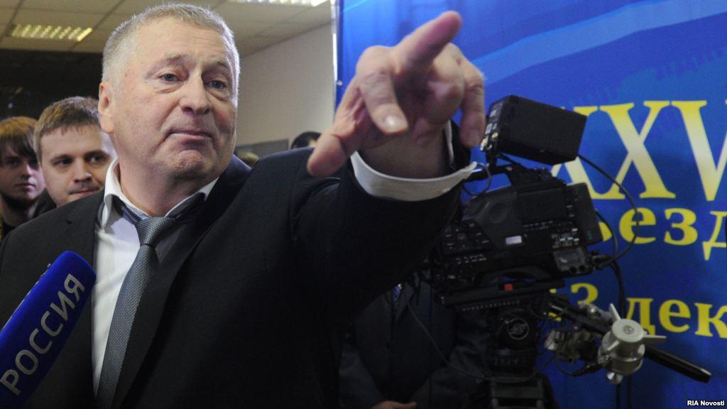 Жириновский хочет потушить Вечный огонь