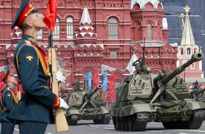 Россия отметила День Победы