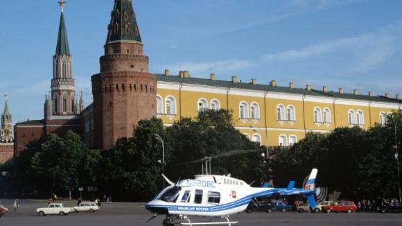 В Кремле построена вертолетная площадка