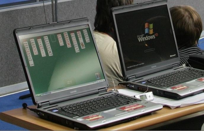 Японский чиновник получил штраф за игры на компьютере