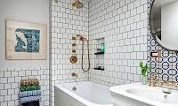 Как выбрать стиль плитки в ванную комнату: преимущества и особенности