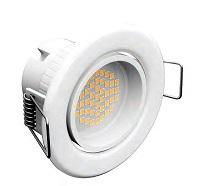 Встраиваемые поворотные точечные светильники: преимущества и особенности