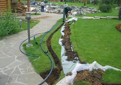 Монтаж системы автоматического полива газона своими руками: способы и этапы
