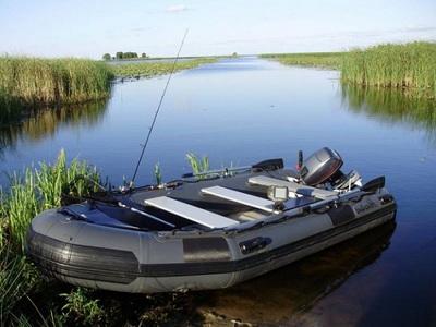 Подбираем речную лодку для комфортной рыбалки