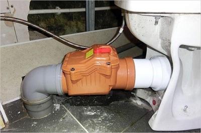 Как установить обратный клапан на канализацию: способы и этапы
