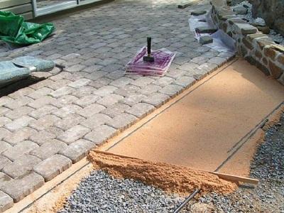 Этапы укладки плитки на тротуаре и советы выбору материала