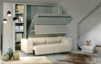 Диван-кровать для маленьких комнат: особенности и советы