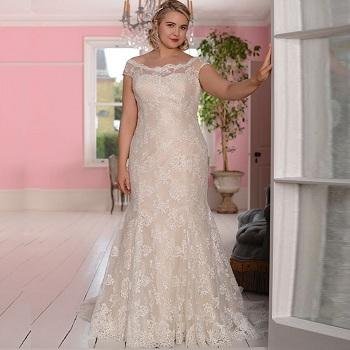 Свадебные платья больших размеров: как выбрать и особенности
