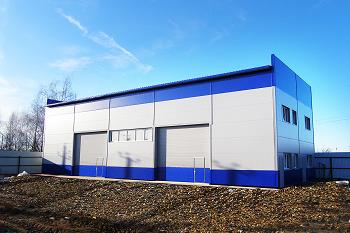 Дополнительные плюсы строительства быстровозводимого склада
