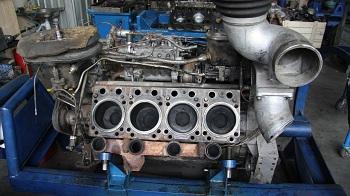 Последовательность действий при ремонте двигателя КАМАЗ