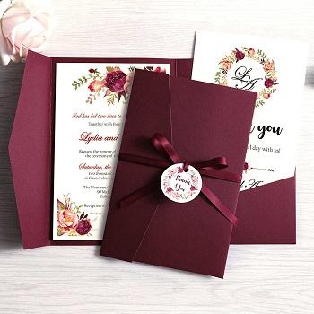 Свадебные приглашения: идеи, изготовление и оформление
