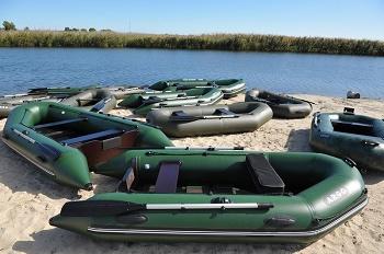 Надувные лодки для туризма: виды и особенности