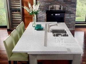 Стол из кварцевого камня: достоинства, монтаж и уход