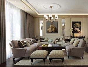 Гостиная в стиле арт-деко: характеристики и выбор мебели