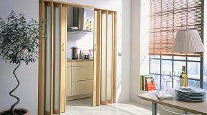 Двери-гармошка: достоинства и правила монтажа
