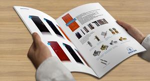 Использование и печать каталогов для презентации фирмы