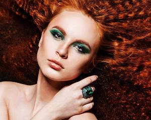 Идеи и правила создания макияжа для рыжих девушек