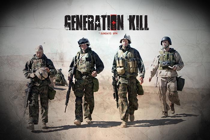 Как снимали телесериал «Поколение убийц»
