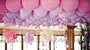 Идеи оформления помещений воздушными шарами