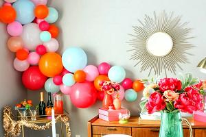 Воздушные шарики для оформления дома: достоинства и правила