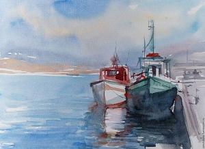 Обучение и правила обучения акварельной живописью