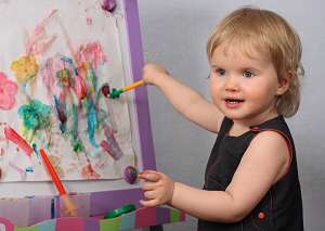 Что нужно и как быстро научить рисовать ребенка