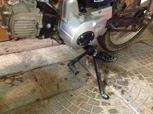 Выбор и установка подножки для мотоциклов