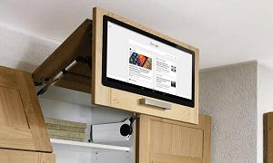 Что такое встраиваемые телевизоры и их установка